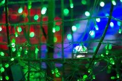 Fondo abstracto del color de la electricidad Imagenes de archivo