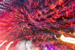 Fondo abstracto del color de la electricidad Foto de archivo