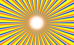 Fondo abstracto del color de Sun fotografía de archivo libre de regalías