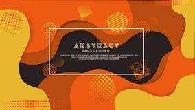 Fondo abstracto del color l?quido de la gradaci?n Dise?o futurista y elegante libre illustration