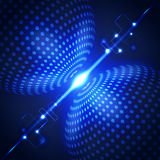 Fondo abstracto del concepto de la tecnología, ejemplo del vector Imagen de archivo