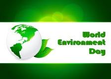 Fondo abstracto del concepto del día del ambiente mundial, Fotografía de archivo libre de regalías