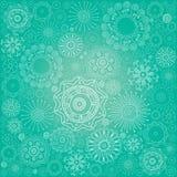 Fondo abstracto del copo de nieve Fotos de archivo libres de regalías