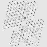 Fondo abstracto del cubo Fotos de archivo