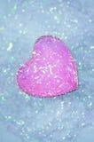 Fondo abstracto del día de tarjeta del día de San Valentín con los corazones Fotografía de archivo