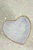 Fondo abstracto del día de tarjeta del día de San Valentín con los corazones Foto de archivo libre de regalías