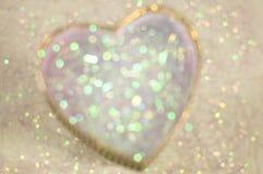 Fondo abstracto del día de tarjeta del día de San Valentín con los corazones Fotos de archivo libres de regalías