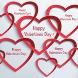 Fondo abstracto del día de tarjetas del día de San Valentín libre illustration