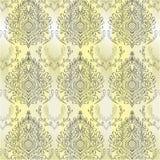 Fondo abstracto del damasco Imagen de archivo