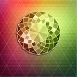 Fondo abstracto del diamante Imagen de archivo libre de regalías
