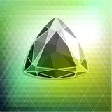 Fondo abstracto del diamante Fotografía de archivo