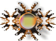 Fondo abstracto del diseño Imagenes de archivo