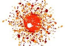 Fondo abstracto del diseño del color de la salpicadura Ilustración Fotos de archivo libres de regalías