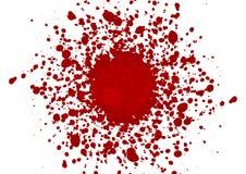 Fondo abstracto del diseño del color rojo de la salpicadura vect del ejemplo Foto de archivo libre de regalías