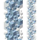 Fondo abstracto del diseño, modelo inconsútil Foto de archivo