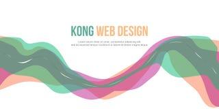 Fondo abstracto del diseño simple del sitio web del jefe libre illustration