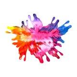 Fondo abstracto del dise?o del color de la pintura del vector Dise?o del vector del ejemplo libre illustration