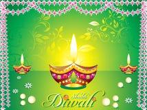 Fondo abstracto del diwali ilustración del vector