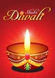 Fondo abstracto del diwali con aumento