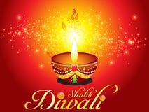 Fondo abstracto del diwali con la chispa