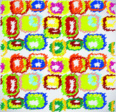 Fondo abstracto del doodle Imagen de archivo libre de regalías