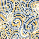Fondo abstracto del doodle Fotografía de archivo libre de regalías