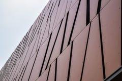 Fondo abstracto del edificio del edificio de oficinas moderno de Los Ángeles Beverly Hills Imágenes de archivo libres de regalías