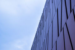 Fondo abstracto del edificio del edificio de oficinas moderno de Los Ángeles Beverly Hills Fotografía de archivo libre de regalías