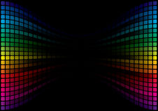 Fondo abstracto del espectro Foto de archivo libre de regalías