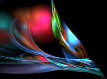 Fondo abstracto del fractal Fotos de archivo libres de regalías
