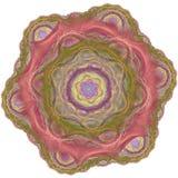 Fondo abstracto del fractal Foto de archivo