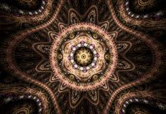 Fondo abstracto del fractal Fotografía de archivo libre de regalías