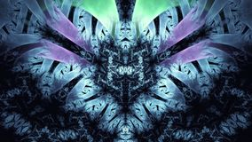 Fondo abstracto del fractal Fondo altamente detallado con colores púrpuras y rosados con los elementos de espirales, de líneas y  Fotografía de archivo
