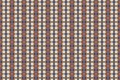 Fondo abstracto del fractal - camomiles y granos fotos de archivo