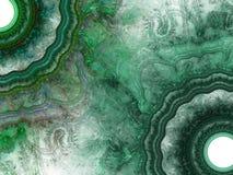Fondo abstracto del fractal Collage de Digitaces ilustración del vector