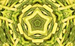 Fondo abstracto del fractal: espárrago Imagenes de archivo