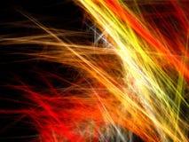 Fondo abstracto del fuego artificial ilustración del vector