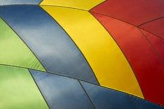 Fondo abstracto del globo del aire caliente, colores Imagen de archivo