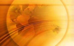 Fondo abstracto del globo del mapa del mundo ilustración del vector