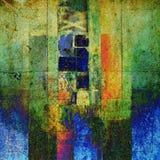 Fondo abstracto del gráfico del grunge del arte stock de ilustración