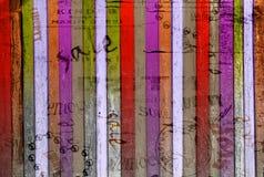 Fondo abstracto del Grunge con los carteles viejos Fotografía de archivo libre de regalías