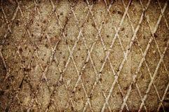 Fondo abstracto del grunge: superficie metálica Fotografía de archivo libre de regalías