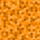 Fondo abstracto del hexágono Fotos de archivo