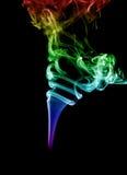 Fondo abstracto del humo fotografía de archivo