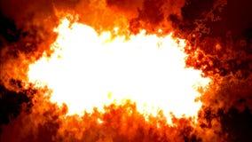 Fondo abstracto del humo y del fuego para el texto libre illustration