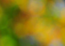 Fondo abstracto del humor en el oro verde y el azul de Brown Foto de archivo