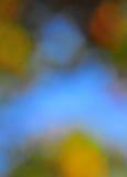 Fondo abstracto del humor en el verde y el azul de Brown Fotos de archivo
