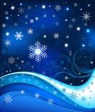 Fondo abstracto del invierno   ilustración del vector