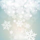 Fondo abstracto del invierno Foto de archivo