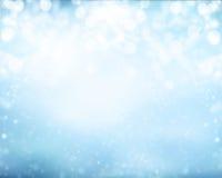 Fondo abstracto del invierno de la falta de definición fotos de archivo